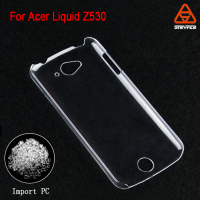 Guangdong mobile phone case distributor For Acer Liquid Z530 PC case blank transparent crystal clear phone case cover