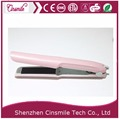 Cute styler personalized wireless rechargeable cordless hair straightener battery flat iron mini hair straightener
