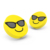 BSCI factory directly supply pvc promotional cool emoji  wireless charger