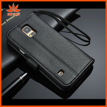 factory price leather card holder flip case cover pouch