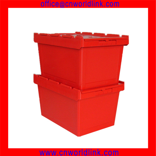 50kgs Heavy Duty Plastic Storage Moving Stacking PP Boxes