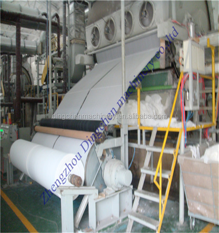 1575 small toilet paper making machine for sale with effective production