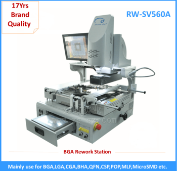 Shuttle Star RW-SV560A optical alignment high precision bga rework station