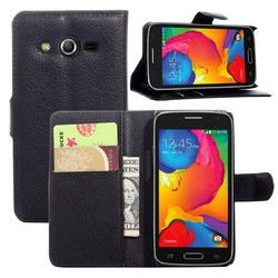 Wholesale Price High Quality Wallet Style PU Leather Materials Flip Cover Case For samsung galaxy avant g386t case