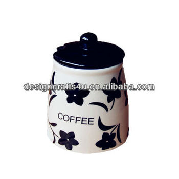 Japanese Style Classic Spice Jar Seal Black and White Kitchen Cruet