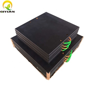 high impact resistence UHMWPE Plastic recessed price of outrigger pad Crain Mats,Nylon