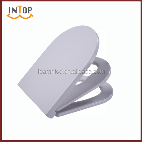 Slow-Close family Toilet Seats Feature and urea Toilet Seat Material for child