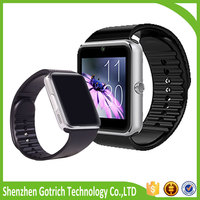 Bluetooth cheap smart watch gt08 with fashion design for iphone and samsung smart phones
