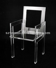 traditional clear acrylic dining chair or acrylic chair