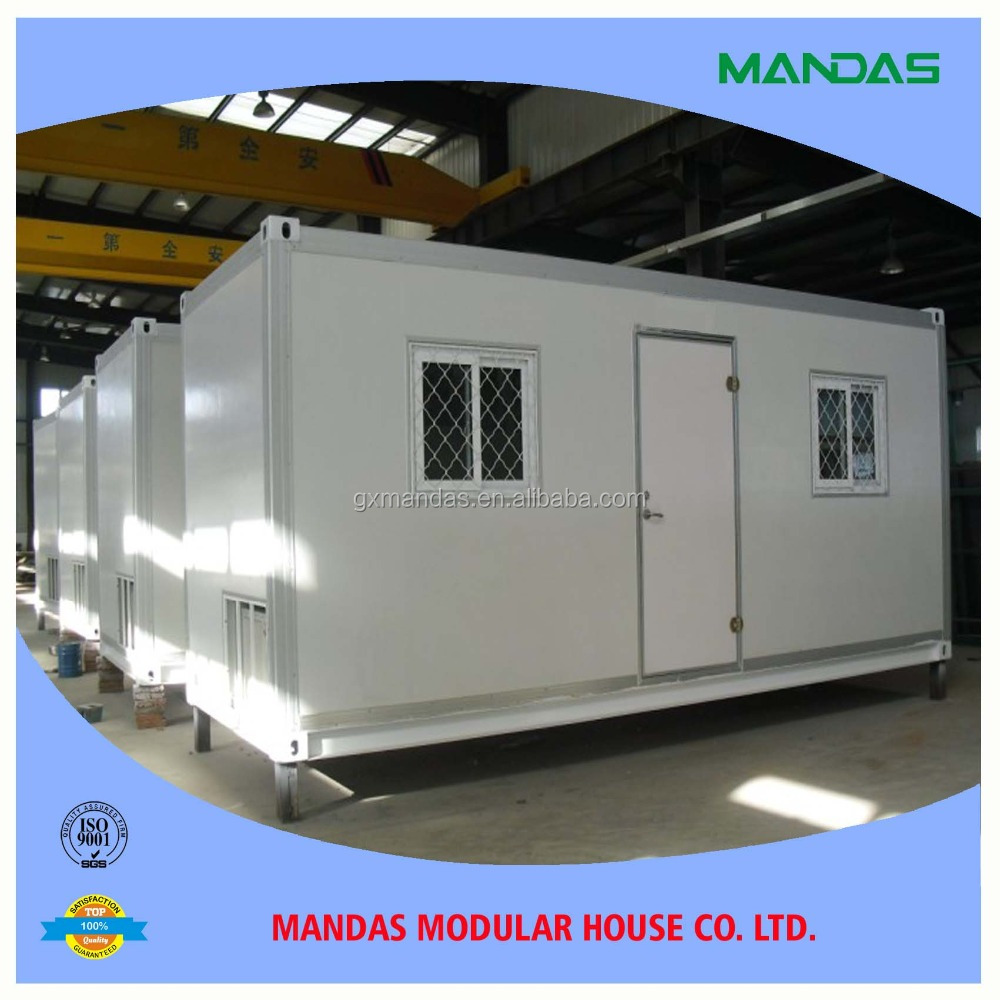 steel post 20ft 40 shipping prefab hooms/container home/modular houses prefabricated living