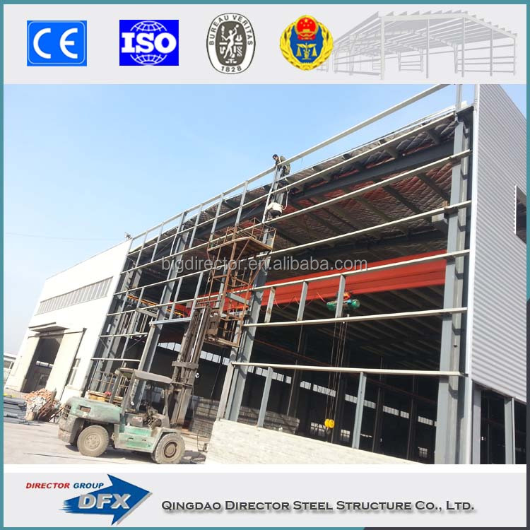 temporary metal buildings Cheap prefab steel structure temporary site office