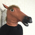 Best Selling New Party Latex Horse Head Halloween Mask