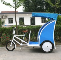 Hot sale Adult Pedal Tricycle /bicycle rickshaw prices