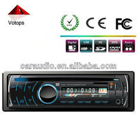 Detachable panel car fm/usb/sd player support subwoofer