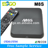 android tv box m8s 2g 8g s812 android tv box satellite receiver android smart tv box