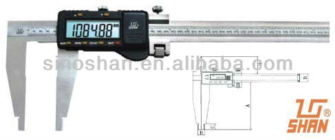 "0-1000mm/0-40"" LCD Reading Digital Vernier caliper"