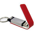 OEM Leather USB Flash Drive 4gb with custom logo
