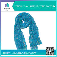 Fashion New Style Lastest Designer Zhejiang Tonglu Women Pretty Warm New Design Arab Scarf