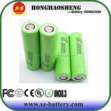 Stock for samsung icr18650-30a 18650 3000mah 3.7v battery