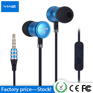 Oem earphone and headphone noise reduction single ear headset microphone with carrying pouch