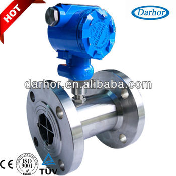 Low pressure loss turbine water flow sensor