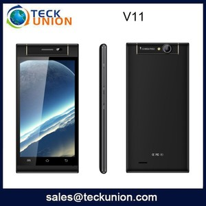 V11 5.0nch no brand cell phone with rotate camera smart android telephone