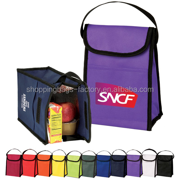Non Woven Eco - Friendly Lunch Bag 7.25 X 10