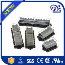 Car fuse box Plastic Material suitable mid blade fuse car fuse holder 5PCS/lot wholesale suitable for all cars