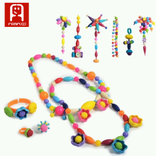 Hot sale Baby Educational DIY Creative Toys 300 pcs jewelry beads