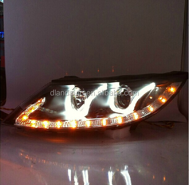 DLAND SPORTAGE R HEADLIGHT ASSEMBLY V4, TYPE U, WITH LED TEAR EYE AND BI-XENON , FOR KIA