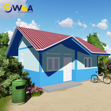 (WAS1003-40M)China Prefabricated Luxury Villa Modular Homes with Various Layouts
