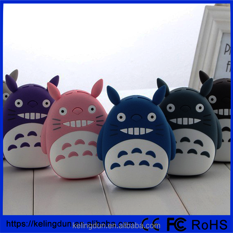 Universal Cute Totoro Power Bank 12000mAh Portable Phone External Battery Charger USB