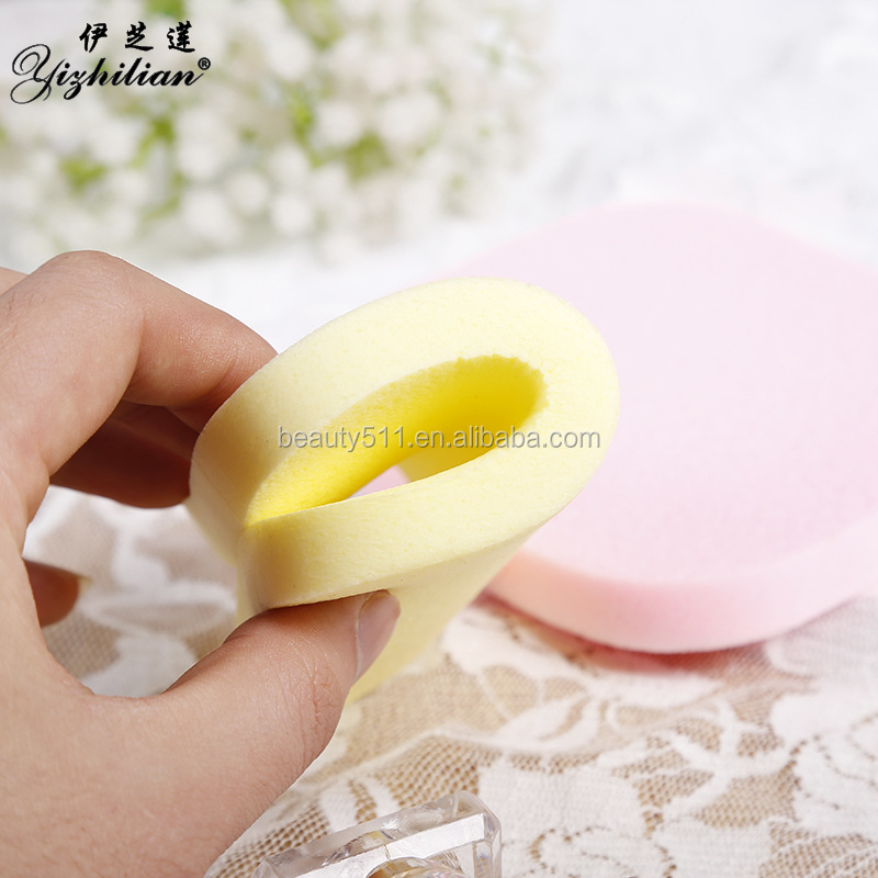 New style Aloe aroma Natural Magic Face washing puff/Sponge Cosmetic Puff