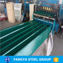 Tianjin Fangya ! color steel sheet galvanized steel metal iron plate steel sheet hs code