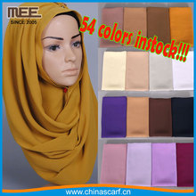 wholesale arab fashion dubai shawl factory bubble chiffon hijab muslim hijab scarf