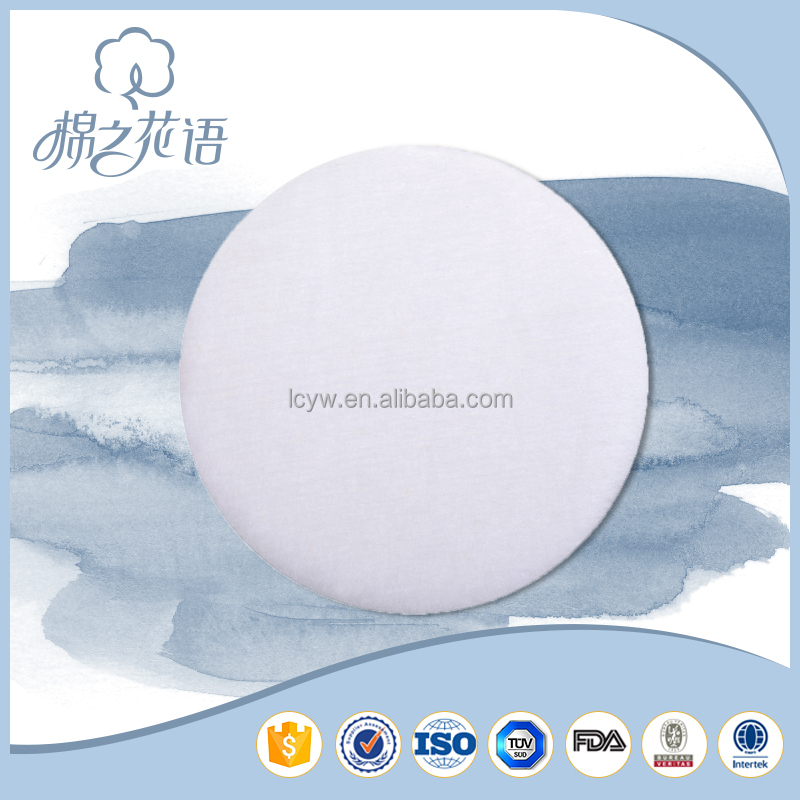 TUV OEM Single use beauty make up remove makeup removal cotton pad