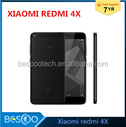 "Original Xiaomi Redmi 4X 4 X Mobile Phone Snapdragon 435 Octa Core CPU 2GB RAM 16GB ROM 5.0"" 13MP Camera 4100mAh"