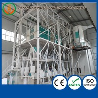 High quality low price maize roller mill