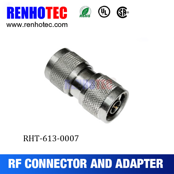 Straight N type to N Plug RF adapter connector made in china