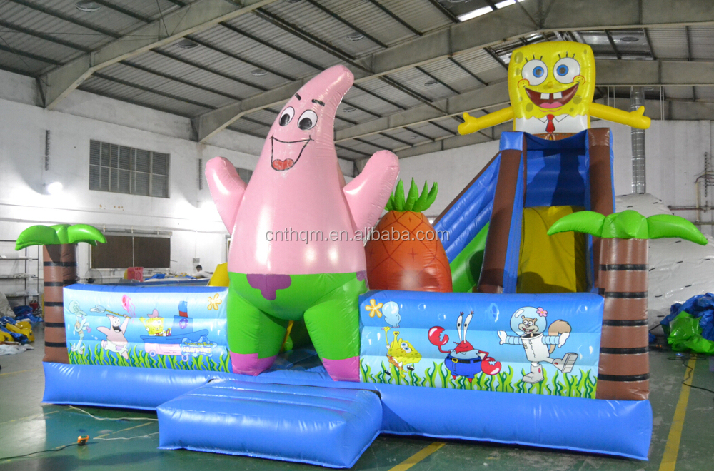 spongebob jumper for sale, inflatable spongebob jump bouncer, kids spongebob buncer