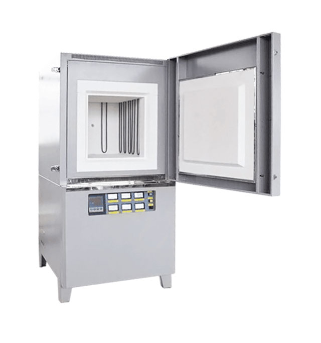 Atmosphere controlled muffle furnace up to 1600 degree for lab
