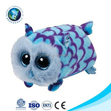 Cute Plush Big eyes owl stuffed soft toys for kids
