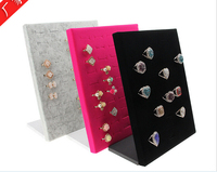 High-grade Jewelry ring display 50 ring jewelry carriage vertical display card display board to receive items
