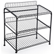 metal wire potato chip & snack display rack