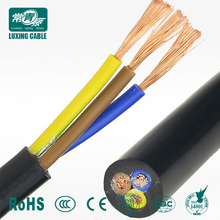 Copper Core PVC Insulated Cable 3 Core 2.5mm Flexible Wire Kabel