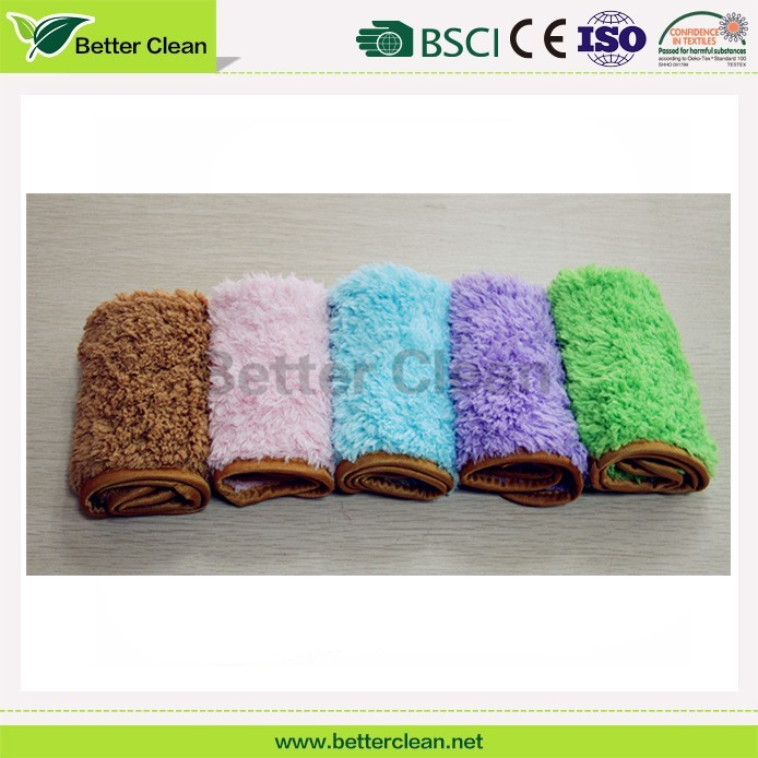 2016 hot design color safe Weft knitting Hot Selling microfiber towels