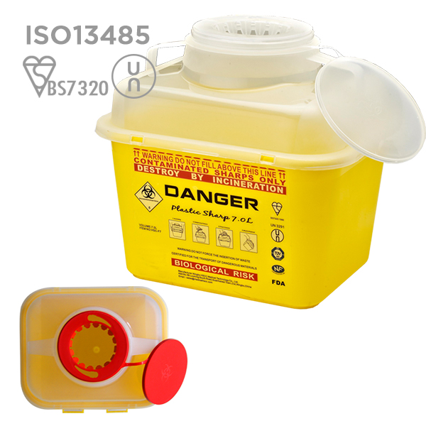 2018 Medical Waste sharps Containers