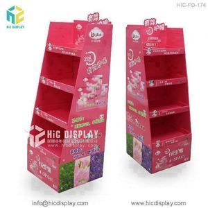 New design folding point of sale cardboard display