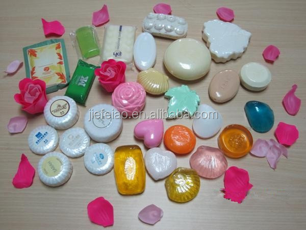 different types of skincare hotel soap