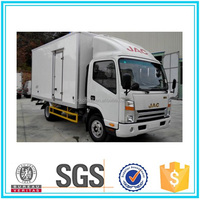 High Quality 4x2 truck refrigerator van for sale JAC light truck